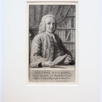 [Antique print, etching and engraving] JOANNES ENSCHEDE, published 1768.