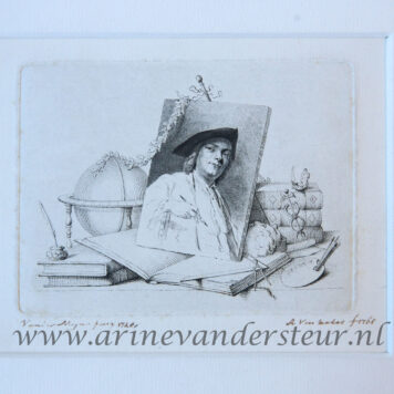 [Portrait print, etching/ets] Portrait of Cornelis Ploos van Amstel, published 1765.
