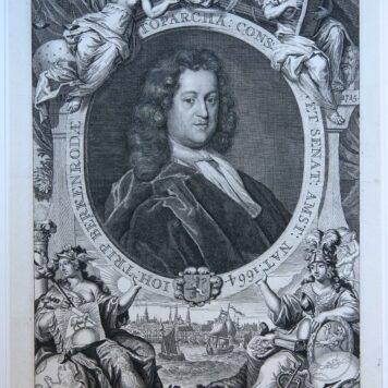 [Portrait print, etching and engraving] Portrait of Jan Trip (1664-1732)