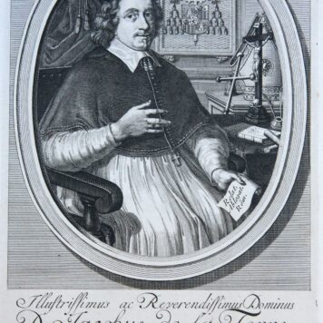 [Portrait print, etching and engraving] Archbishop D. Jacobus de la Torre