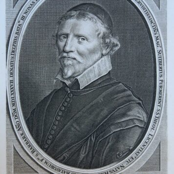 Portrait of Petrus Purmerent (at 63), Roman Catholic priest