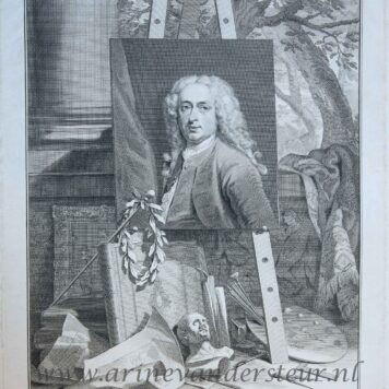 [Portrait print of Cornelis Troost] Cornelis Troost, after 1750.