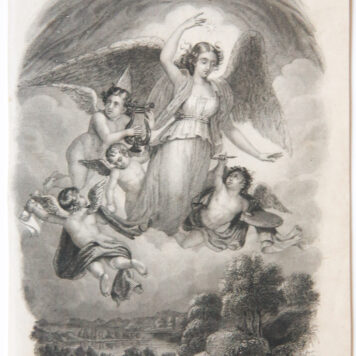 [Steel engraving on paper] AURORA, ca 1841.
