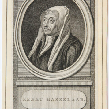 [Antique print, etching and engraving] Kenau Simons Hasselaer (portrait of), 1788.
