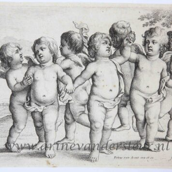 Dance of cherubs in the country
