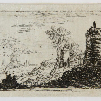 Landscape with ruined buildings/Landschap met ruines