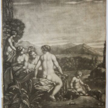 Five Nymphs bathing in a stream, ca 1650-1700