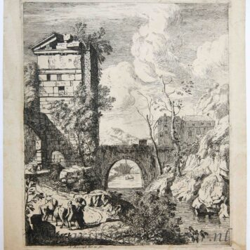 Landscape with a ruined tower, 1695
