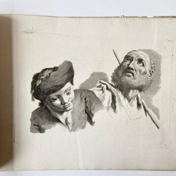 [Study book with etchings/Studieboek met etsen] Studi di Pittura.