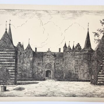[Original etching] The castle of Helmond.