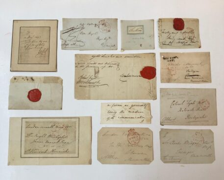 50 autographes and addresses British and Irish statesmen and generals, mainly 19th century.