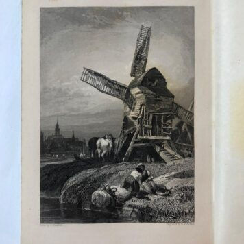 [Travel book] Travelling sketches on the Rhine and in Belgium and Holland, with 26 beautifully finished engravings from drawings by Clarkson Stanfield Esq. Londen: Longman etc., 1833. [Heath's Picturesque Annual for 1833]