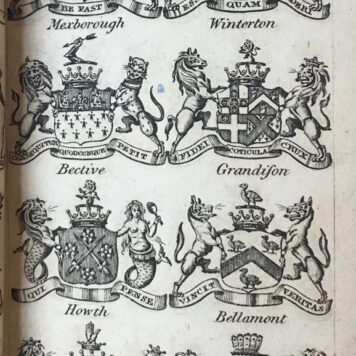 Kearsley' s complete peerage of England, Scotland and Ireland, brought down to the yaer 1791, 2 volumes, London [ 1792?], 32 + 436 + 10 + 113 + 4 + 7, 120, full calf.