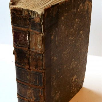 Historie van mejuffrouw Sara Burgerhart. [Not translated] 2nd edition. 's-Gravenhage, Isaac van Cleef, 1783. [2 parts bound together]