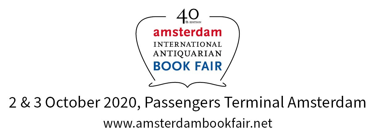 ILAB book fair Amsterdam, 2 & 3 October 2020