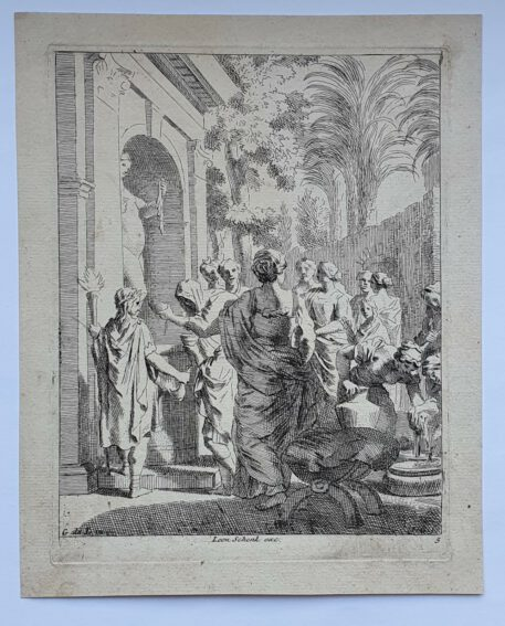 Print. J. Glauber, after G. de Lairesse, Sacrifice to Venus.