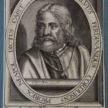 [Antique engraving, gravure] Anonymous. CONSALVUS FERDINANDUS CORDUBENS, published 1600-1650.