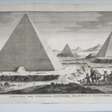 Print. J.C. Philips, The Pyramids in Egypt.