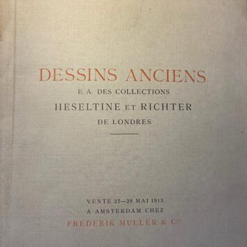 Dessins Anciens e.a. des collections Heseltine et Richter de Londres