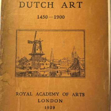 Exhibition of Dutch Art 1450-1900, London, Royal Academy of Arts