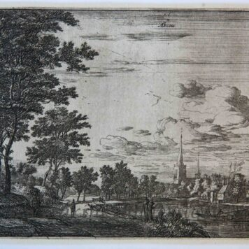 Abcoude prent, print