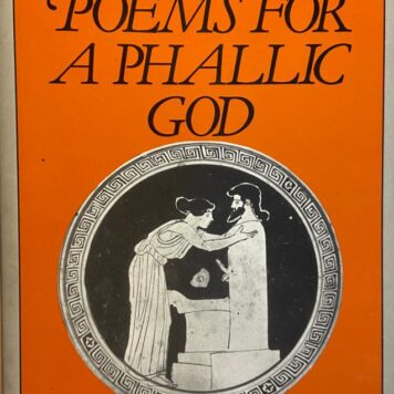 Priapea: Poems for a phallic god, Translated and edited by W.H. Parker, Croom Helm Australia 1988, 216 pp.