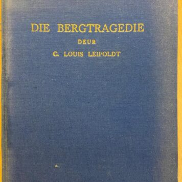 [FIRST EDITION] Die Bergtragedie