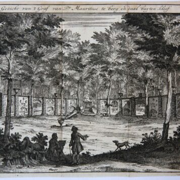 [Antique print, etching] Still life with game / Stilleven met wild.