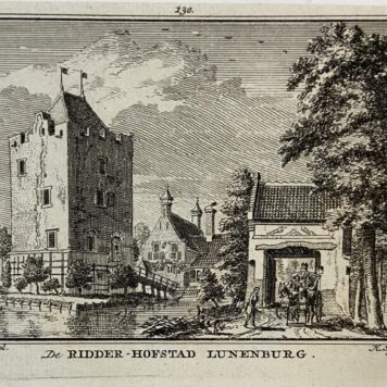 [Antique print] De Ridder-Hofstad Lunenburg.