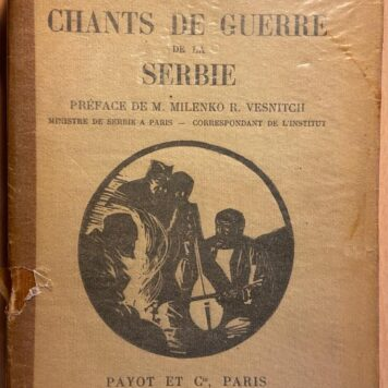 Chants de guerre de la Serbie