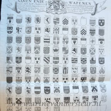 Three armorial charts of Utrecht.