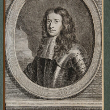 [Antique print; engraving] WILLEM DE DERDE (Willem III), published ca. 1749-1759.