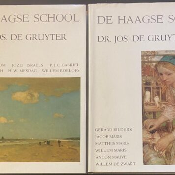 De Haagse school (2 delen), lemniscaat 1968, 2 volumes, 117 + 106 pp. Illustrated.