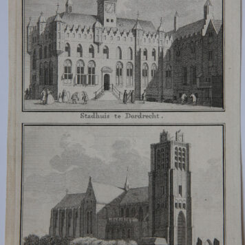 [Antique print; etching, The Hague] Aanslag op de Gedeputeerden van Dordrecht, in 's Hage, published 1786-1792.