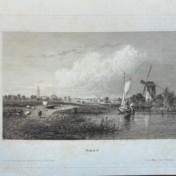 [Lithography, Lithografie, The Hague] Place Guillaume (dite Willems Plein) (currently Plein 1813), 1 p, published 19th century.