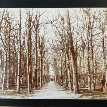 [Photography, Bloemendaal] Old photo of Duin en Daal Bloemendaal, Noord- Holland, The Netherlands, 12 x 17 cm, published around 1900.