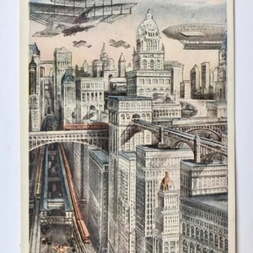 Futuristic postcard published around 1911, but a hundred years later almost true...